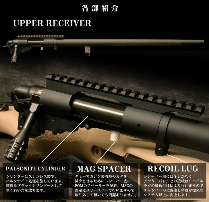 PDI製コンプリートライフル「M40A3」