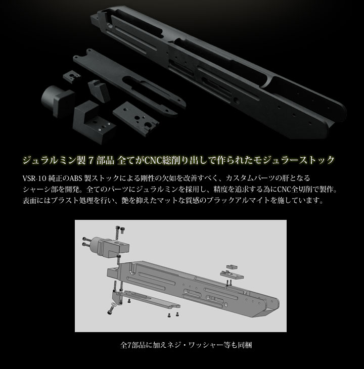 VSR-10用モジュラーストック(MODULAR STOCK)2