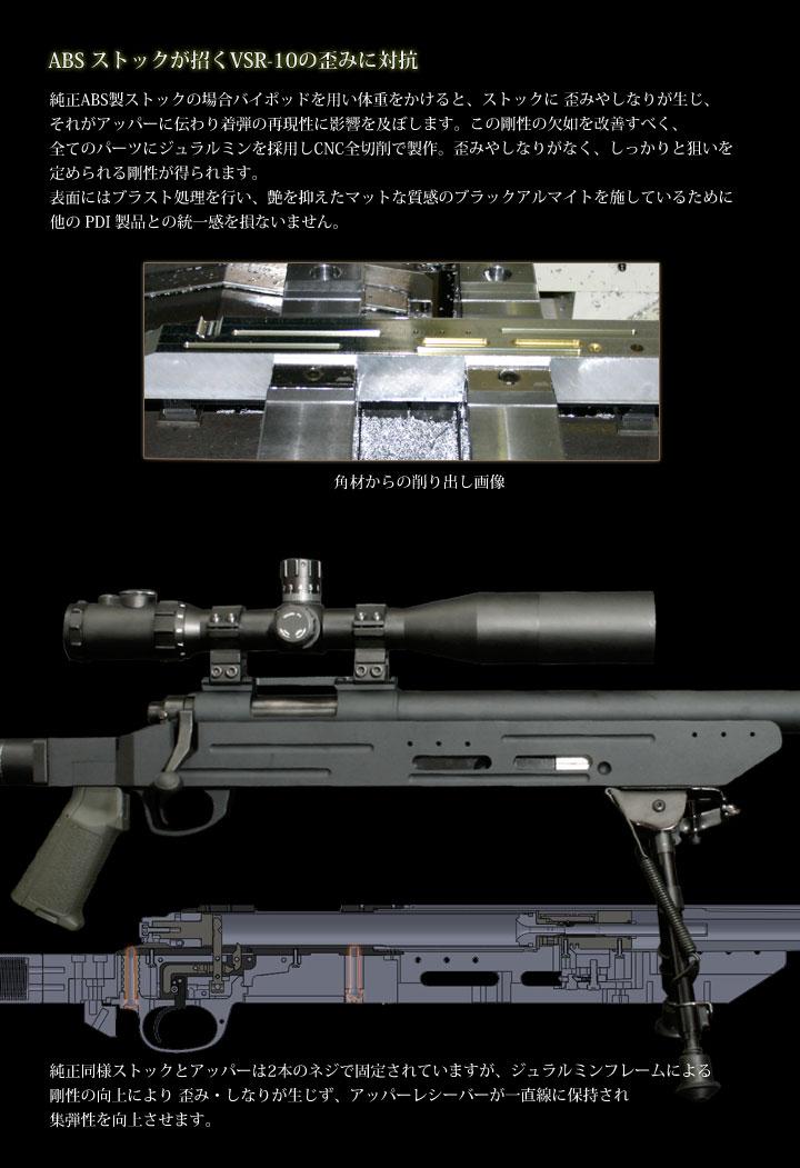 VSR-10用モジュラーストック(MODULAR STOCK)3