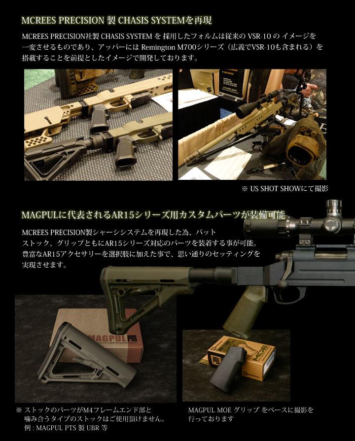 VSR-10用モジュラーストック(MODULAR STOCK)4